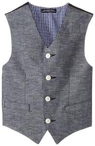 Nautica Boys 8-20 Linen Cotton Twill Vest from Nautica