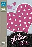 New International Version NIV Glitter Bible Collection Flexicover Pink Heart