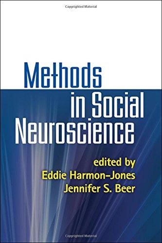 Methods in Social Neuroscience