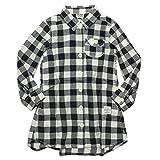 (エフオーキッズ) F.O.KIDS 胸ポケ付きシャツワンピース ブラック(BK) 120