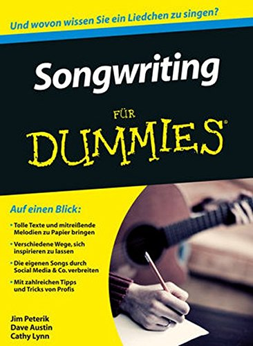Abbildung: Songwriting für Dummies