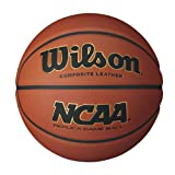 Best Basketball Balls - Wilson NCAA Replica Game Ball Basketball - Brown Review