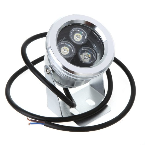 Amerlight TM 9W 12V Underwater LED Light Landscape Fountain Pond Lamp Bulb White