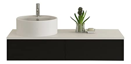 Bath furniture Biel black