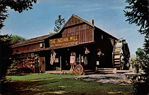 Vintage Postcard of The Indian Mill in Peninsula, Ohio