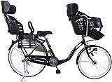 C.Dream(シードリーム) スイートママ 後ろ子供乗せセット 3人乗り対応 SWM636 26インチ 子供乗せ自転車 ブラウン 3段変速 BAA 100%組立済み発送