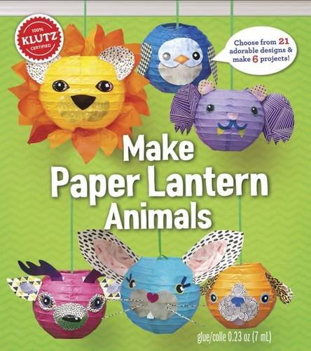 <b>KLUTZ Make Paper Lantern Animals Toy</b>