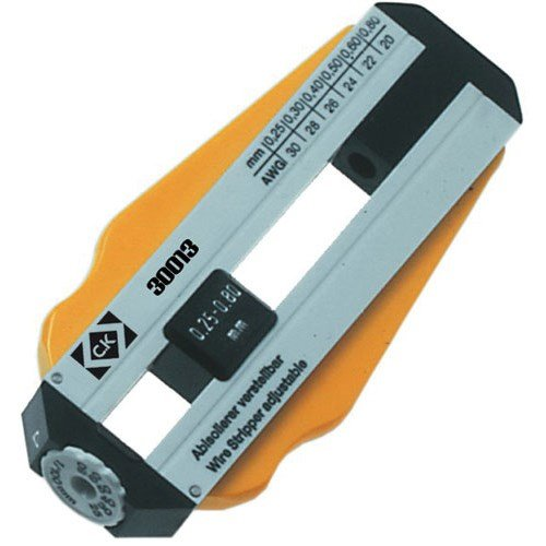 ck-330009-nickless-adjustable-wire-strippers-26-36-awg-2-pack