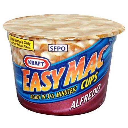Kraft Easy Mac Cups Alfredo - 10 Pack