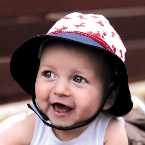 UVカット帽子 - ベビー ハット(パピー46cm) 紫外線カット率最高値UPF50+