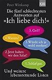 """Die fünf schlechtesten Antworten auf """"Ich liebe dich!"""": und weitere lebensrettende Listen (KiWi)"""