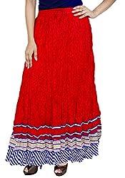 Rangreja Women's Skirt (WESK101RB38_Yellow_38)