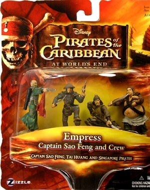 - 	 Pirates of the Caribbean 3: At Worlds End > Empress Captain Sao Feng and Crew Mini Figure Multi-Pack - 1