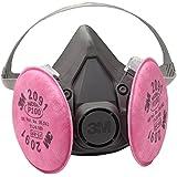 3M 6391 P100 Reusable Respirator Gas Mask - Large