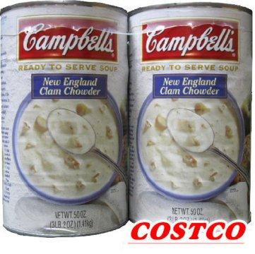 Campbell (キャンベル)クラムチャウダー 1.4kg 2缶