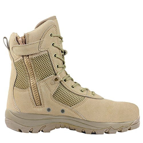 Maelstrom LANDSHIP 8 Military Tactical Boots with Zipper