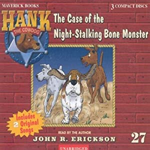 The Case of the Night Stalking Bone Monster Audiobook