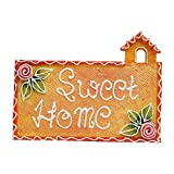 999Store sweet home name plate door hanging rajasthani handicraft gift item home décor hand painting flower hut