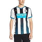 Puma Men's Newcastle Home Replica Shirt With Sponsor