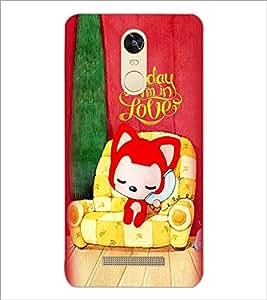 PrintDhaba Love D-5999 Back Case Cover for XIAOMI REDMI NOTE 3 PRO (Multi-Coloured)