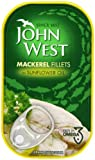John West Mackerel Fillets In Sunflower Oil 125 g (Pack of 5)