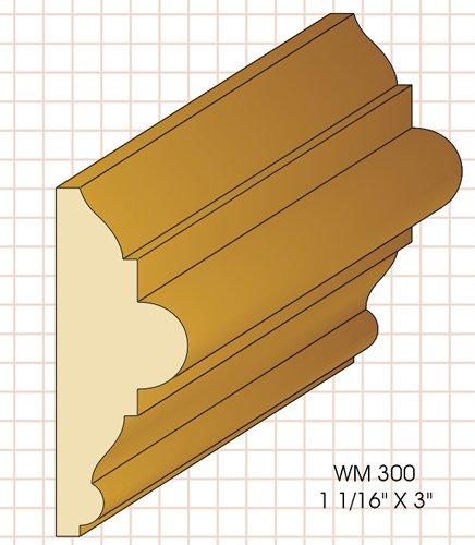 wm300 Chair Rail Knife fits Woodmaster/Belsaw/Powermatic