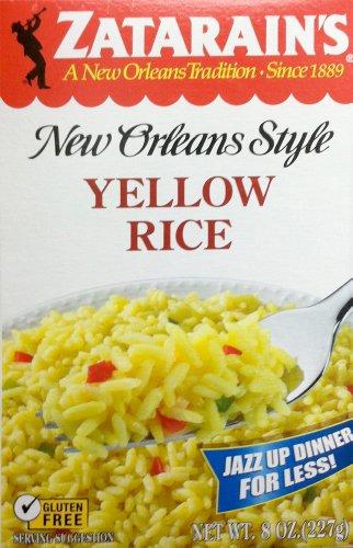Zatarain'S Gluten Free New Orleans Style Yellow Rice 8Oz (2 Pack)