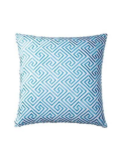 Trina Turk Tangier Stripe Pillow, Blue, 18 x 18