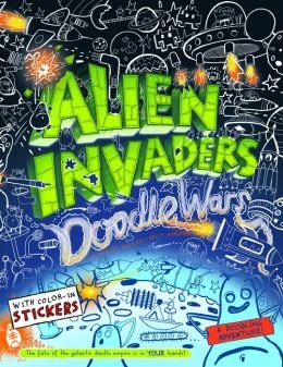Alien Invaders (Doodle Wars) Paperback (9781435148918) (Red Oakley Sticker compare prices)