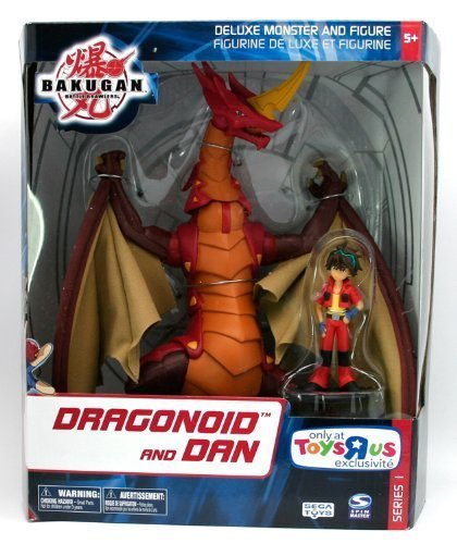 Picture of Mattel Bakugan Battle Brawlers Deluxe Monster and Figure - Dragonoid and Dan (B001I2WJAS) (Mattel Action Figures)