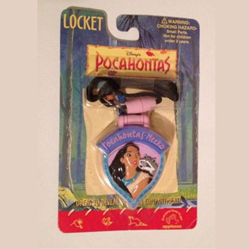Vintage Disney Applause Pocahontas Locket