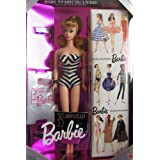 Barbie 35th Anniversary Special Edition Reproduction Of Original 1959 Barbie Doll & Package (1993) - Blonde Hair...