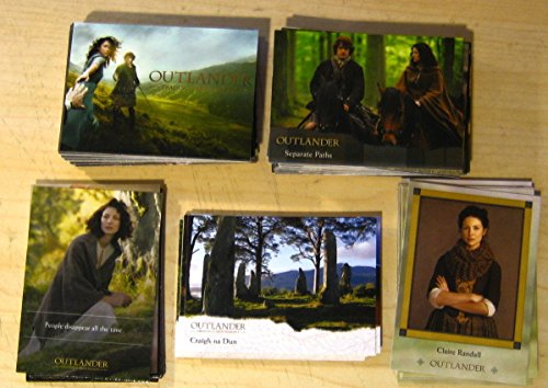 Outlander Season Trading Cards