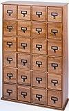 Leslie Dame CD-456 Library File Media Cabinet, Deluxe Oak Finish