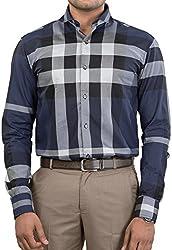 Unkonventional Men's Casual Shirt (unkchknavzzl_Multicolor_40)