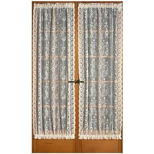 windsor scottish style lace 72 door curtain