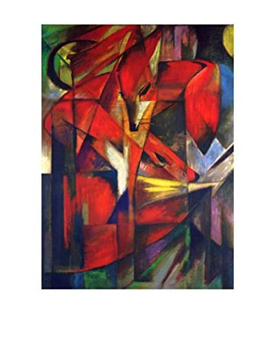 LegendArte Panel Decorativo La Volpe de Franz Marc