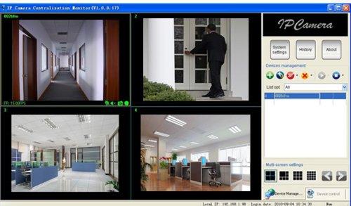 Imagen de Wansview IP inalámbrica cámara IP con Pan & Tilt, visión nocturna, 2 Audio Way, Negro, micrófono incorporado, IPhone, Windows y Mac