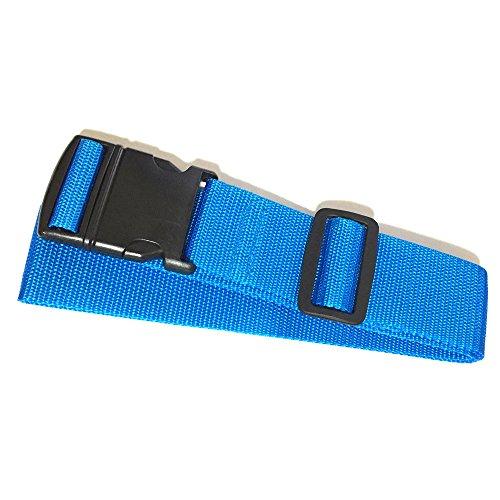 トラベル スーツケースベルト (青)