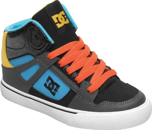 DC Shoes Kids Spartan High-D0303499B Fashion Sports Skate Shoe