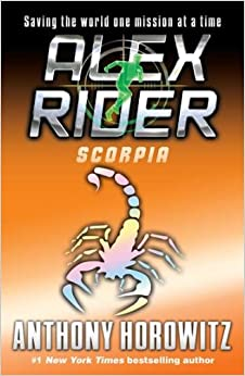 What are the books in the alex rider series