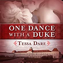 One Dance with a Duke: The Stud Club Trilogy, Book 1 Audiobook by Tessa Dare Narrated by Leslie Bellair