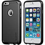 iPhone 6 Case, 6s Case LUVVITT [Ultra Armor] Shock Absorbing Case Best Heavy Duty Dual Layer Tough Cover for Apple iPhone 6 / iPhone 6s (4.7) - Black