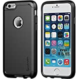 iPhone 7 Case, LUVVITT [Ultra Armor] Shock Absorbing Case Best Heavy Duty Dual Layer Tough Cover for Apple iPhone 7 - Black
