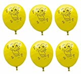 SpongeBob 12in Balloons 6ct
