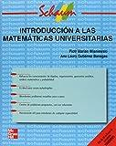 img - for Introduccion a Las Matematicas Universitarias (Spanish Edition) book / textbook / text book