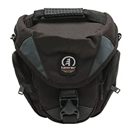 Tamrac 5515 Adventure Zoom 5 Camera Bag Holster Case (Gray) + Tripod + Accessory Kit for Canon Rebel XSi, XS, T1i, XTi, 40D, 50D, Nikon D40, D60, D5000, D90, D300, D700, Olympus Evolt E-30, E-450, E-520, E-620, and Sony Alpha A200, A300, A350, A700 Digital SLR Cameras