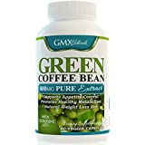 Pure Green Coffee Bean Extract 800mg with GCA Natural Weight Loss Supplement, Formulated Especially for Launching Your Green Coffee Bean Diet - Premium Quality - Fully Guaranteed Organic Green Coffee Bean, 60 Count 100% Suppress Appetite, Proven 800mg Serving 50% Chlorogenic Acid. No Fillers, All Natural, Healthy Weight Loss! Highest Quality 800 Mg Best Formula for Weight Loss on the Market