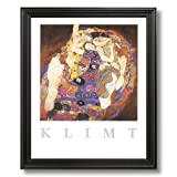 Gustav Klimt The Virgin Contemporary Home Decor Wall Picture Black Framed Art Print