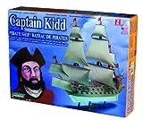 Lindberg 1/130 scale Captain Kidd Pirate Ship